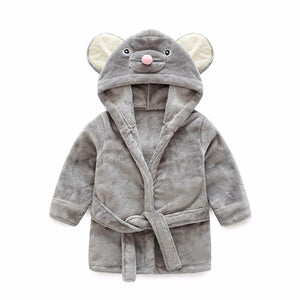 Squirrel baby and kids bathrobe nightgown - Just Kidding Store