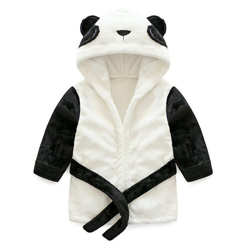 Panda baby and kids bathrobe nightgown - Just Kidding Store
