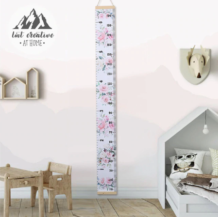 Wall Hanging Growth Chart - Height Measure Ruler