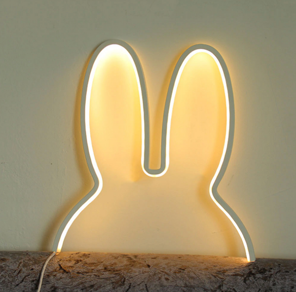 Childrens Night Ligt Rabbit Ears LED Night Light - Just Kidding Store