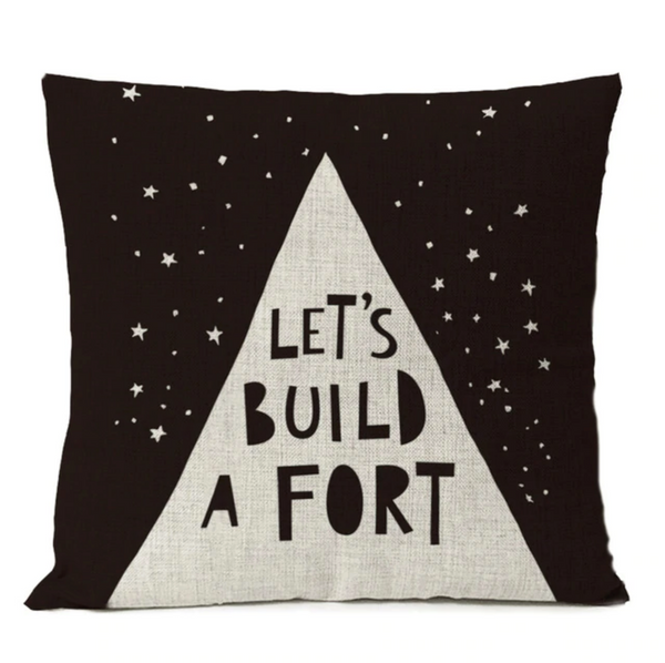 Let's Build A Fort - Nordic Style Cushions Cover