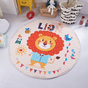 Baby Kids Activity Play Mat - Toy Storage Bag - Big Lion Just Kidding Store