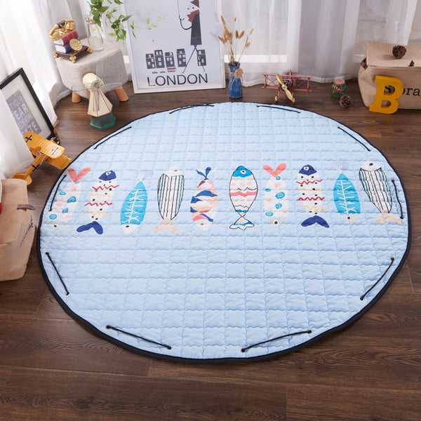 Under the Sea Play Mat Toy Storage - Just Kidding Store