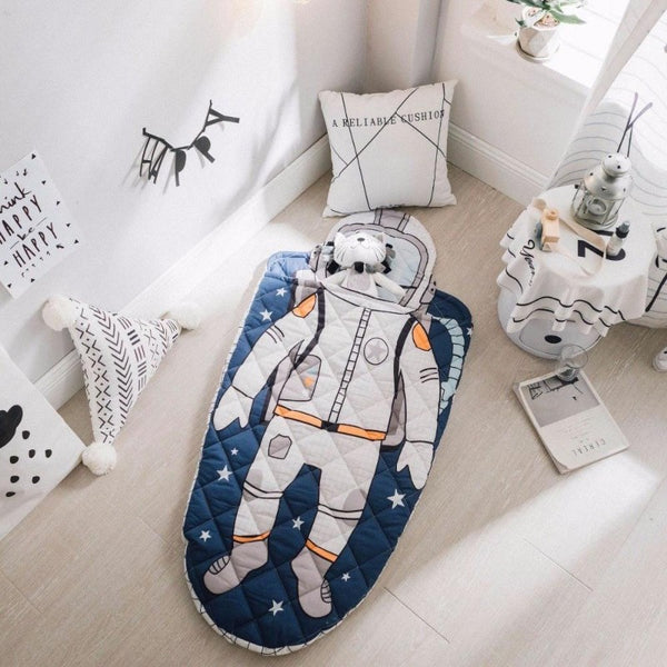 Kids Spaceman Sleeping Bag - Astronaut Sleeping Sack - Just Kidding Store