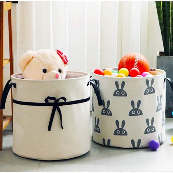 Nordic Style Round Storage Baskets