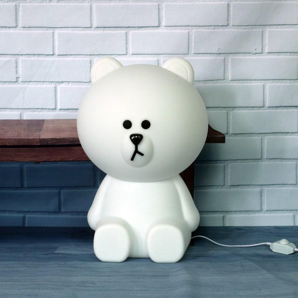 Bear Led Night Light Lamp - Kids Table Lamp - Just Kidding Store