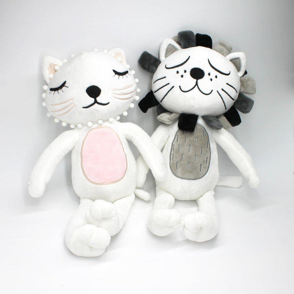 Soft Soothe Plush Toy - Cat - Lion - Just Kidding Store