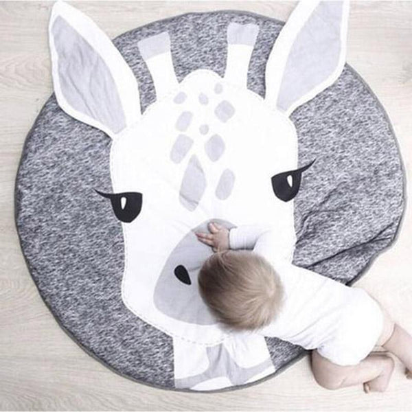 Giraffe Baby and Kids Crawling Play Mat - Just Kidding Store