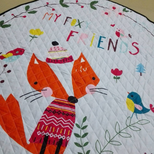 My Foxy Friends Kids Antislip Play Mat Toy Storage - Just Kidding Store