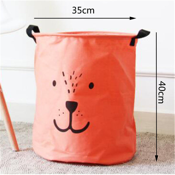 Large Laundry Hamper Bag - Clothes Storage Baskets -Just Kidding Store