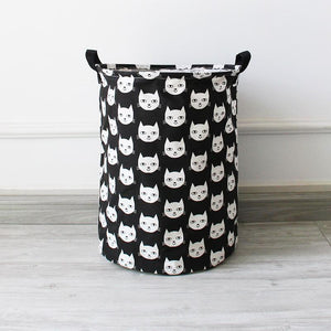 Kitty Large Toy Storage Hamper Bag Kids Laundry Basket - Just Kidding Store
