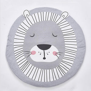 Lion Playmat Sleepy Lion Baby Toddler Crawling Mat Just Kidding Store