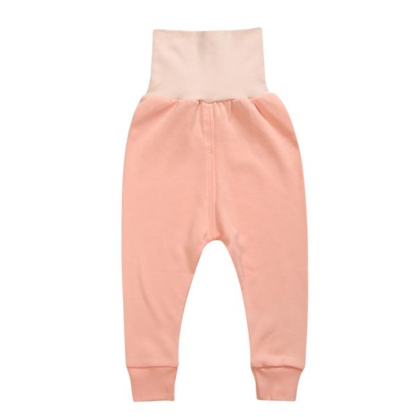 High Waist Sleepwear Set - Kids Pajamas - Peach