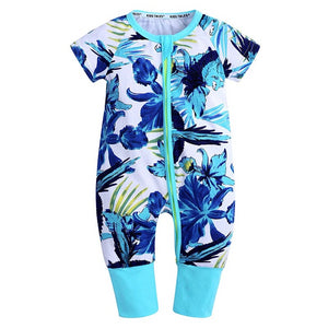 Blue Lily Baby Toddler Fashion Summer Romper - Just Kidding Store