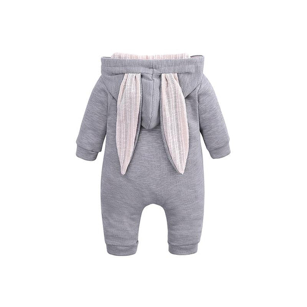 Bunny Ears Romper - Rabbit Kids Toddlers Jumpsuit - Just Kidding Store