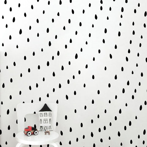 Watermelon Seeds Wall Decal -  Irregular Polka Dots Stickers - Just Kidding Store