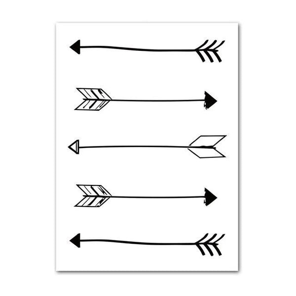 Canvas Wall Art Arrows, Batman, Big Dream Quotes - Just Kidding Store
