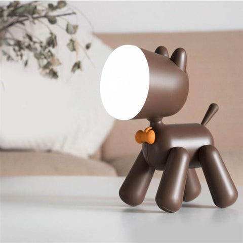 Puppy LED Night Light - Kids Table Lamp - Just Kidding Store