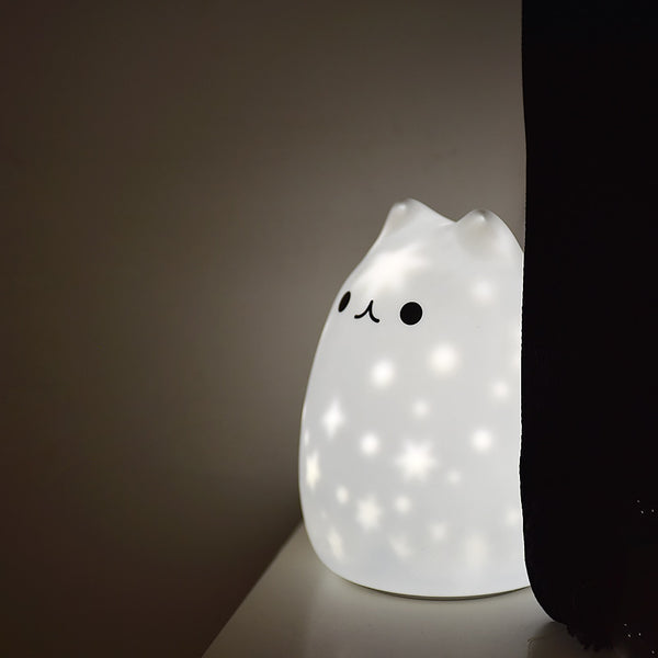 Sparkly LED Night Light - Tap Control Color Changing Lamp