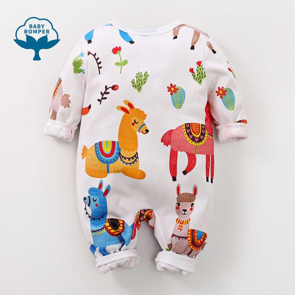 Alpaca Cotton Baby Toddler Romper - Just Kidding Store