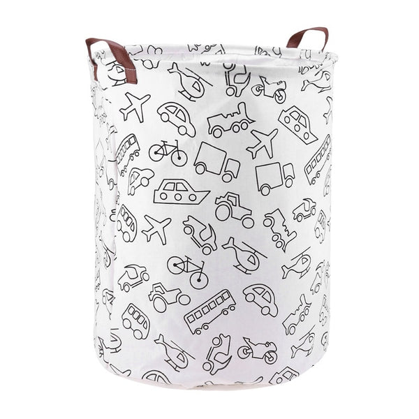 Cars And Planes Toy Storage Hamper Bag - Laundry Basket - Just Kidding Store