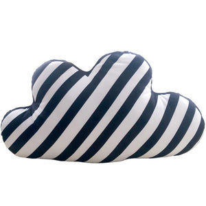 Kids Black and White Nordic Cloud Cushion - Just Kidding Store