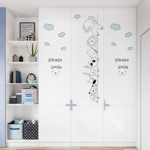 Corner Wall Stickers - Peeking Animals -  Just Kidding Store
