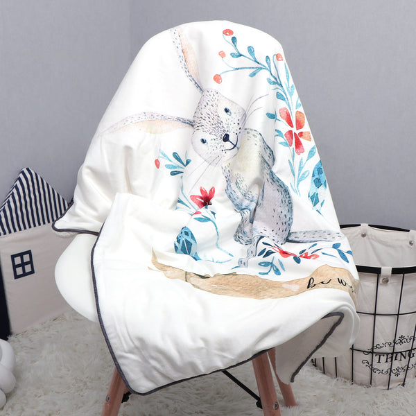 Luxuriously Soft Baby Kids Children Bunny Blanket - Just Kidding Store