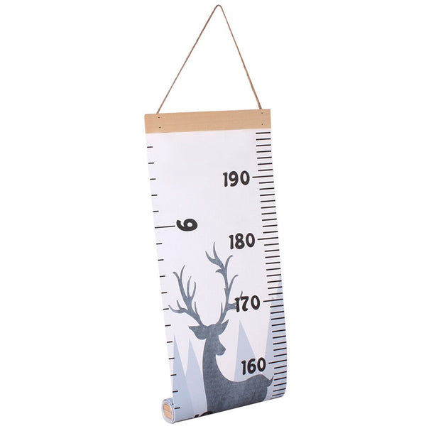 Wall Hanging Growth Chart - Woodland Animals