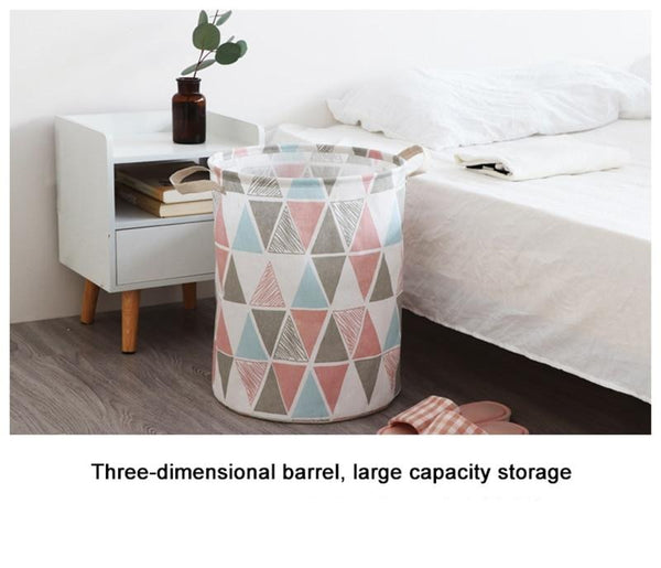 Triangle Storage Basket - Hamper Bag - Just Kidding Store