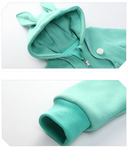 Bunny Hooded Romper