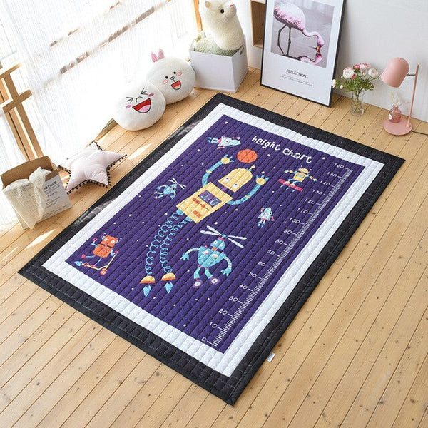 Oversized Kids Play Mat - Quilted Anti Skid Carpet - Just Kidding Store