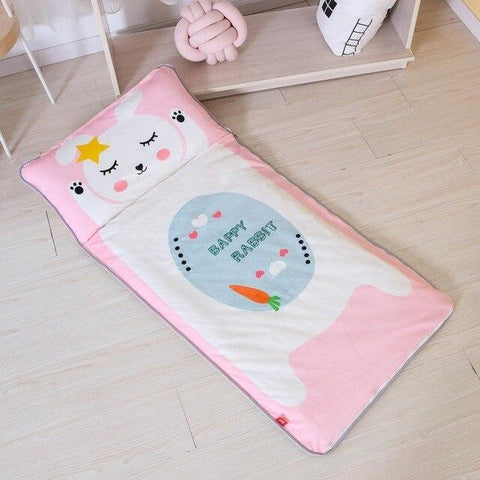 Happy Rabbit Sleeping Envelope Kids Sleeping Bag With Pillow - Just Kidding Store