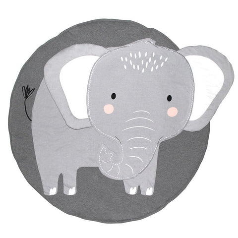 Elephant Play Mat - Kids Activity Crawling Mat - Just Kidding Store