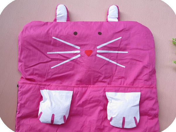 Hot Pink Rabbit Sleeping Bag