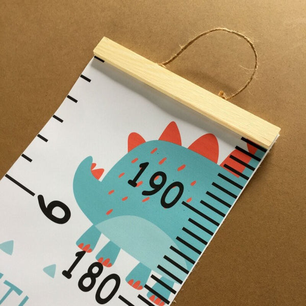 Colorful Kids Growth Chart - Height Measure Ruler