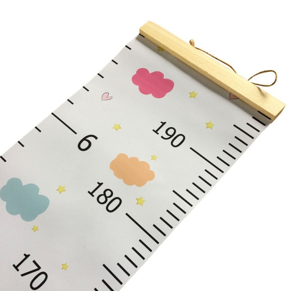 Colorful Kids Growth Chart - Height Measure Ruler - Just Kidding Store