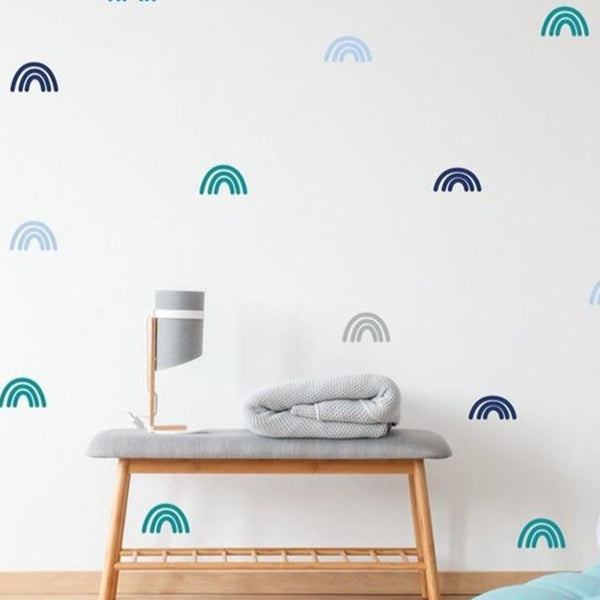 Colorful Kids Rainbows Wall Sticker - Just Kidding Store