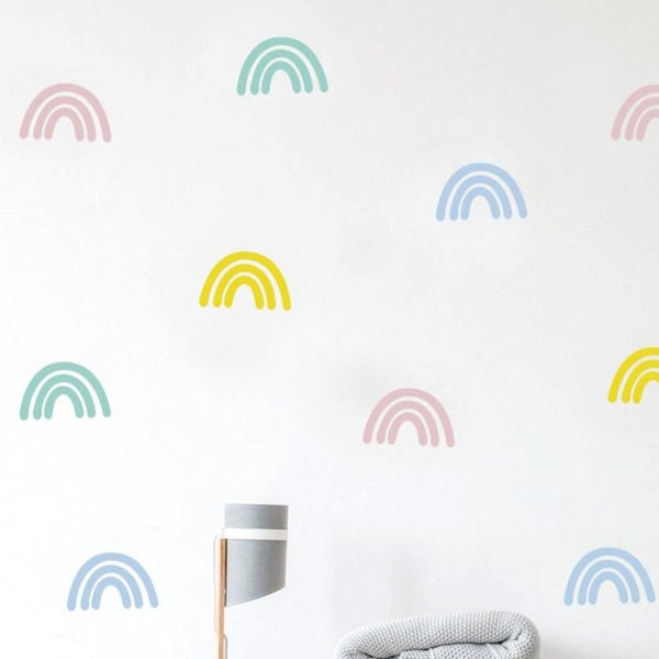 Colorful Rainbows Wall Sticker