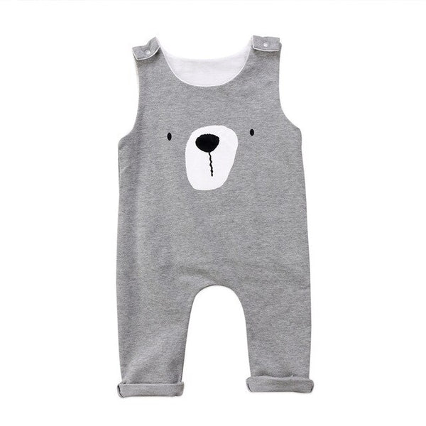 Baby Bear Romper - Kids Summer Jumpsuit - Just Kidding Store