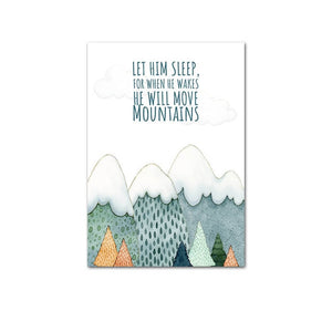 Let Him Sleep For When He Wakes He Will Move Mountains - Just Kidding Store