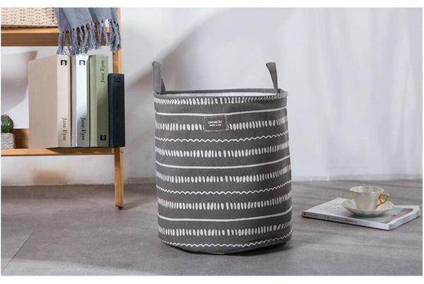 Thick Double Layer Laundry Hamper  - Storage Basket