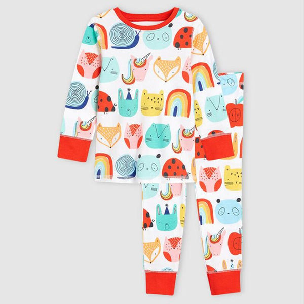 Happy Woodland Kids Pajama - Kids Sleepwear - Just Kidding Store