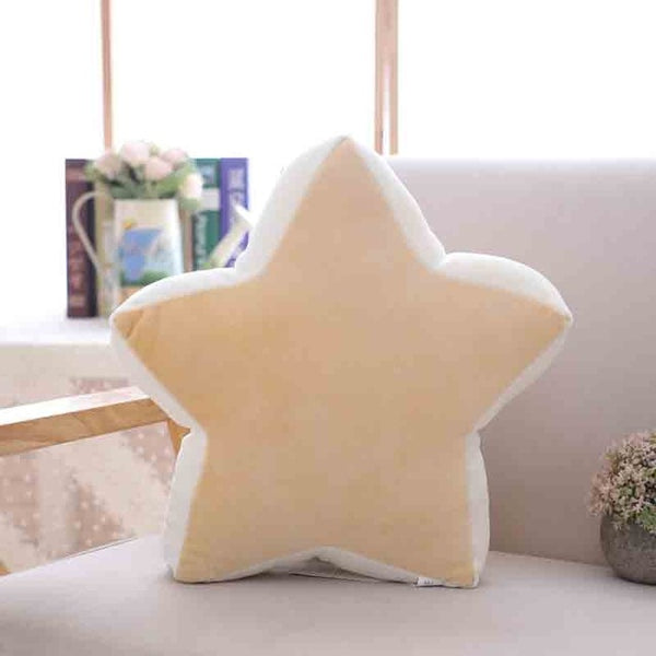 Colorful Plush Cushion Star Moon Mountain Circle - Just Kidding Store