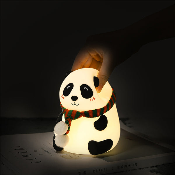 Panda LED Night Light Tap Control Color Changing Lamp - Just Kidding Store