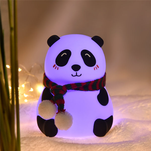 Panda LED Night Light - Tap Control Color Changing Lamp