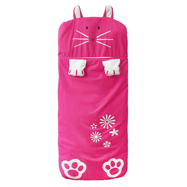 Hot Pink Rabbit Sleeping Bag - Kids Sleep Sack - Just Kidding Store