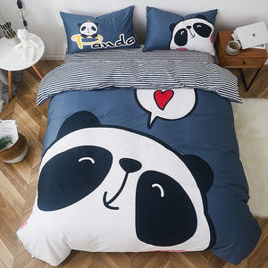 Big Panda Bedding Set - Childrens Modern Bedding  - Just Kidding Store