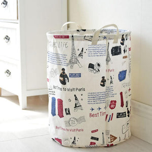 Travel Life Large Toy Storage Hamper Bag Laundry Basket - Just Kidding Store