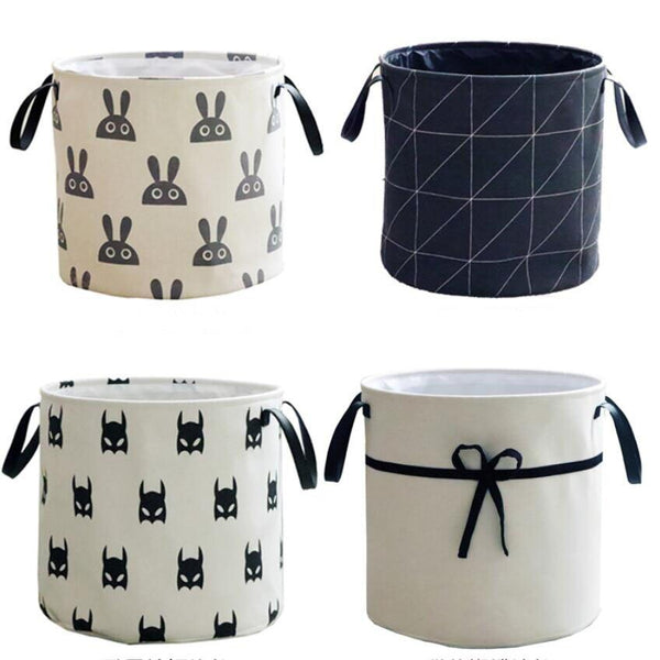 Nordic Style Round Storage Baskets Children Storage - Just Kidding Store